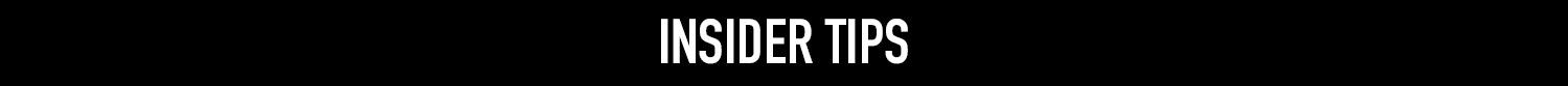 insider tips banner