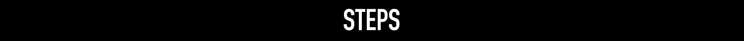 steps banner