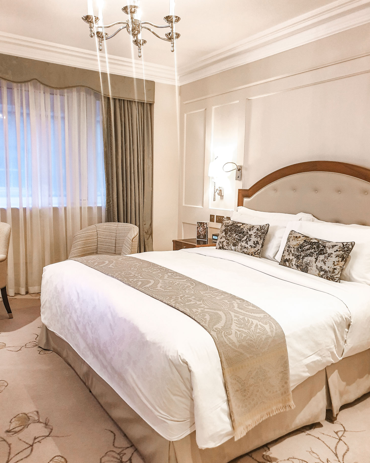 superior double room at The Langham London