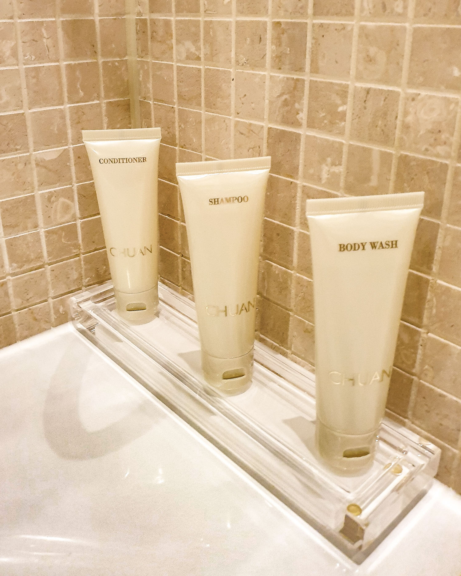 The Langham London chuan bath products
