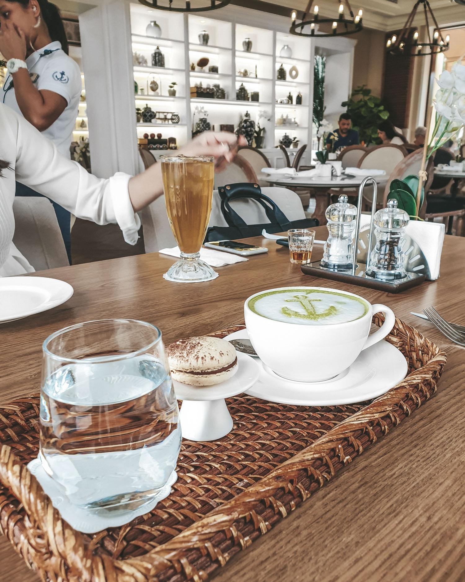 best matcha lattes in Dubai