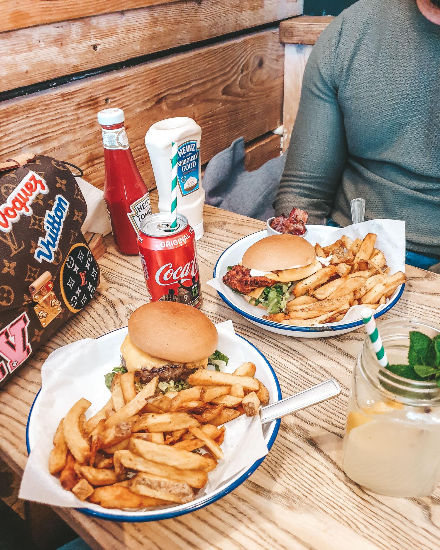 Honest burger London gluten free burger