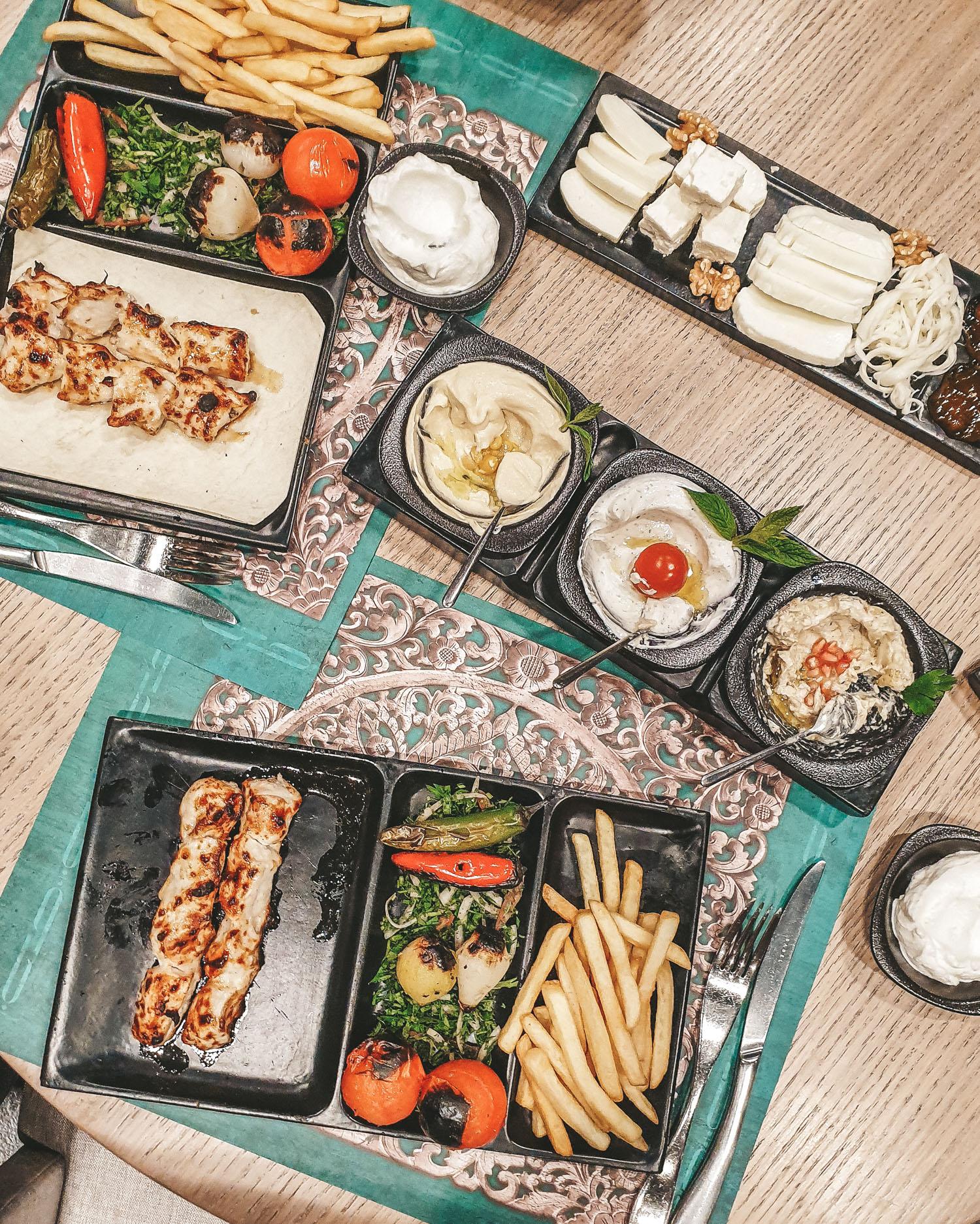 Bebabel The Dubai Mall   Lebanese food