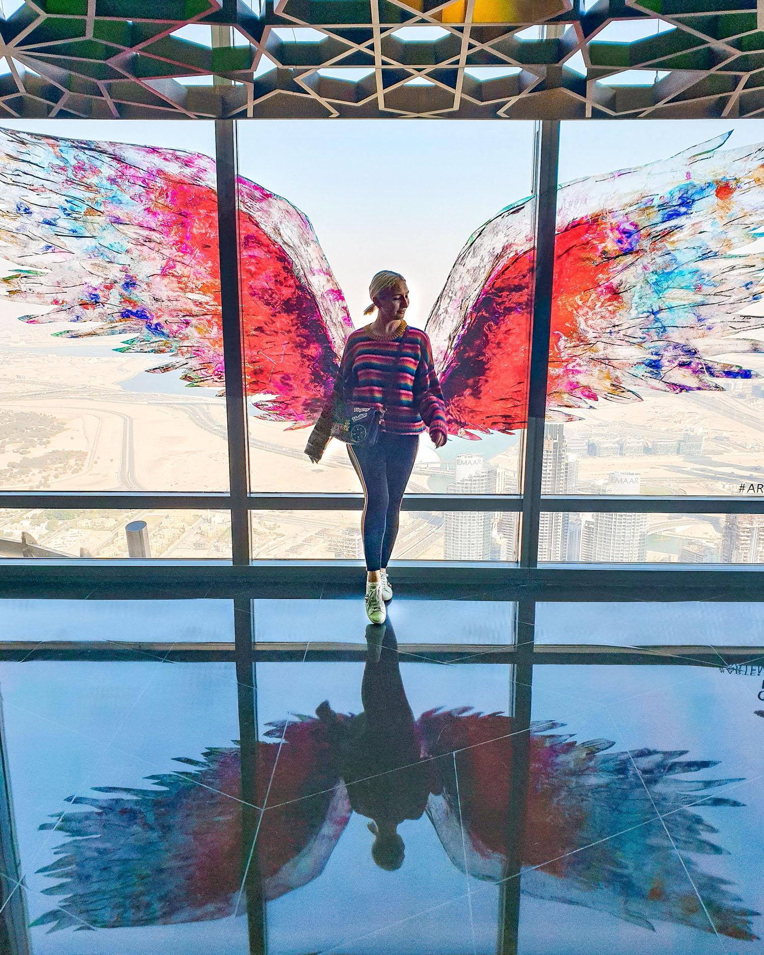 At The Top Burj Khalifa: indoors