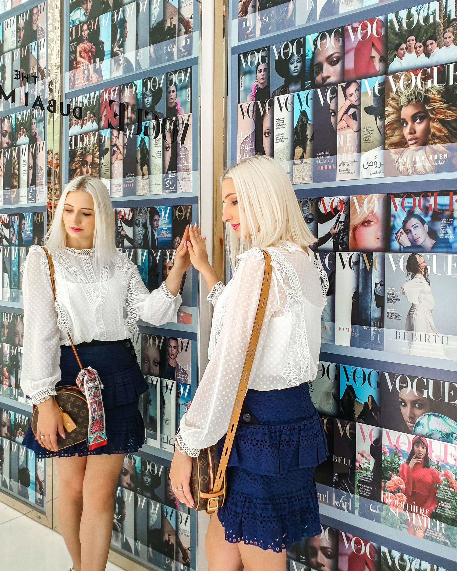 In the older section of Fashion Avenue