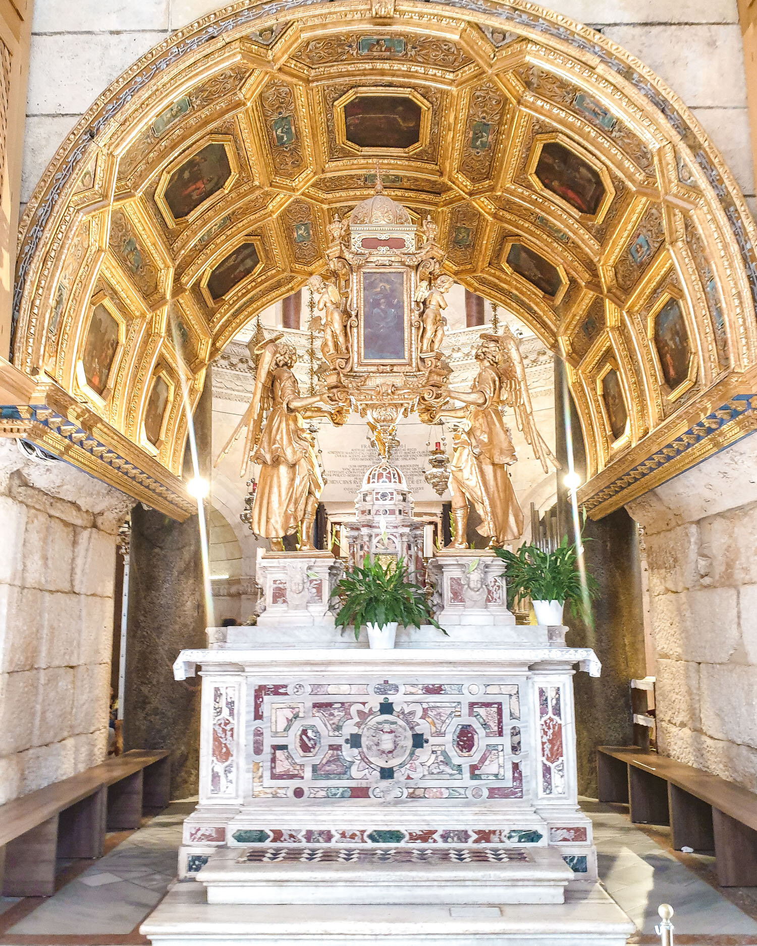 Inside the Cathedral of Saint Domnius
