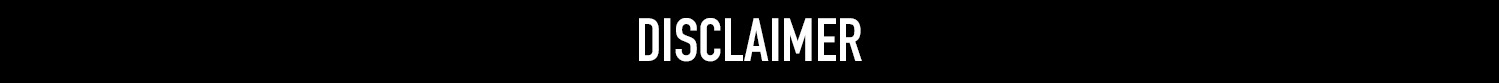 disclaimer banner