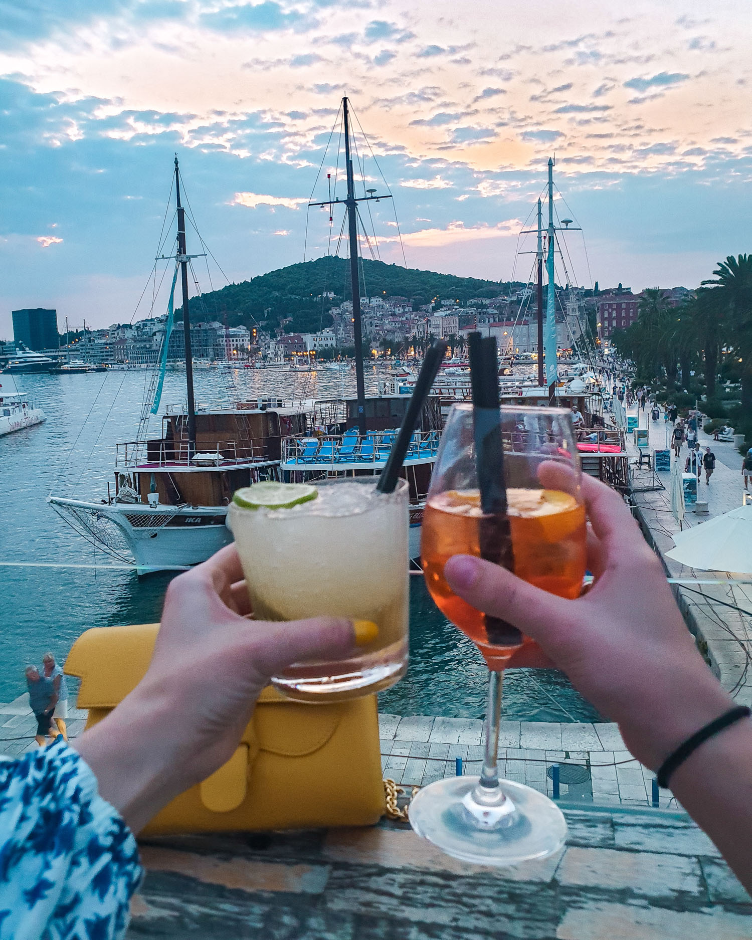Roof 68 cocktails | Gluten Free Guide Split, Croatia
