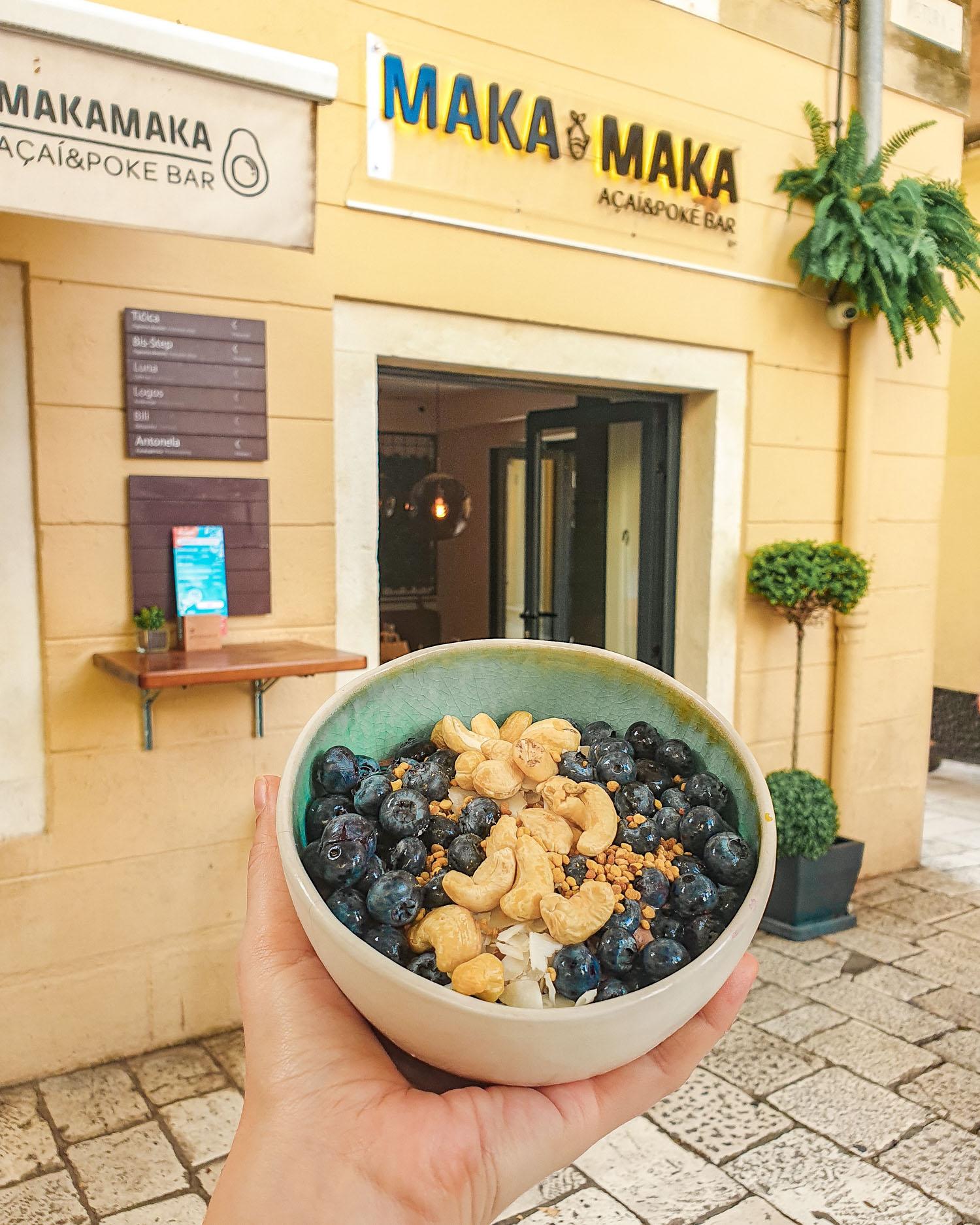 Maka Maka acai| Gluten Free Guide Split, Croatia
