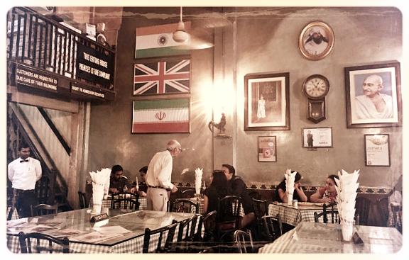 Inside Brittania photo courtesy Wendell Rodricks