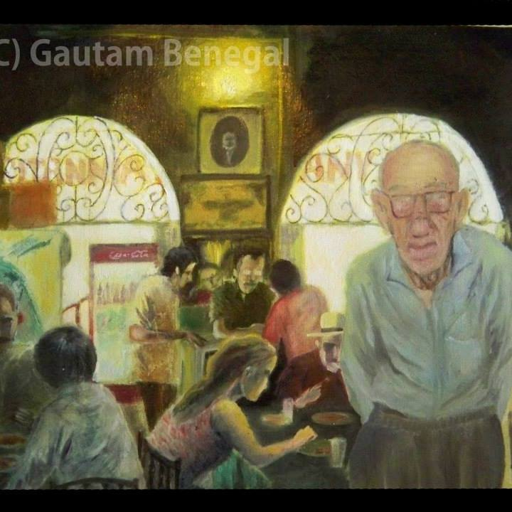 Two representations of the Irani cafe