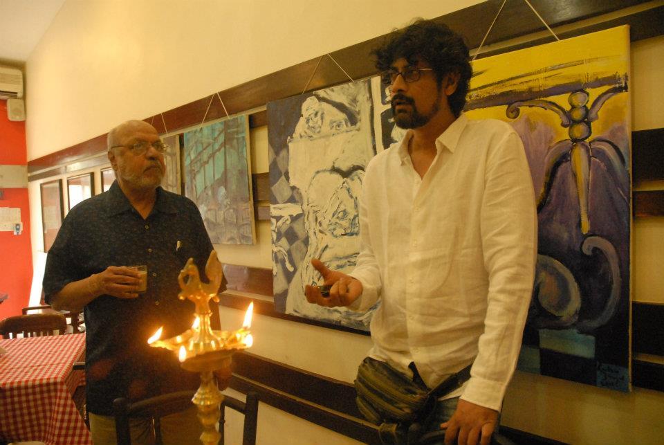 Gautam Benegal, artist, illustrator, film-maker and writer.