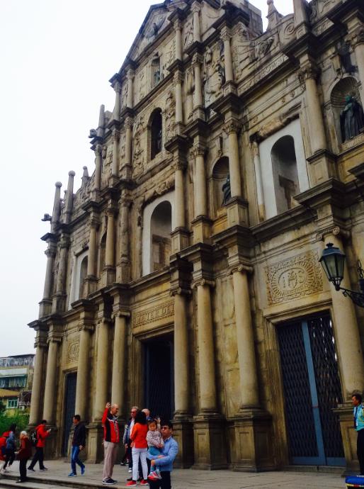 'Ruins of St. Paul'
