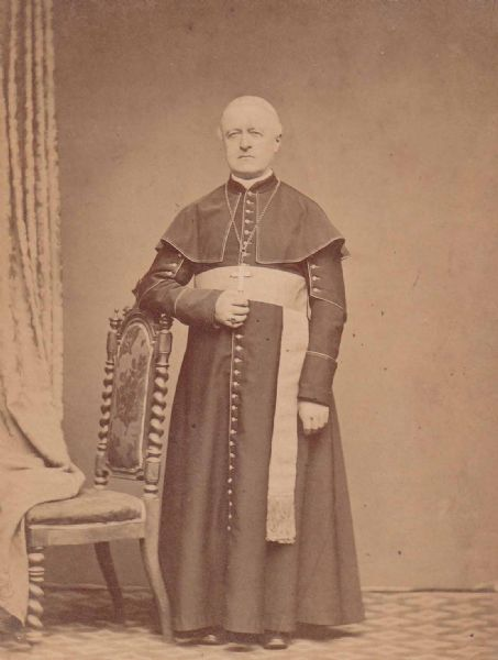 Archbishop Giovanni Balma, early Vicar Apostolic of the Catholic mission in Burma, c. 1848. In 1621, the king of Siam gave permission to build a Catholic Church in Ayut'ia.