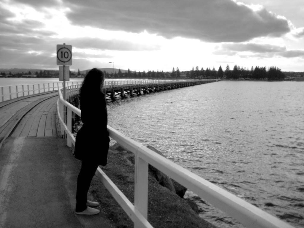 The contemplative poet Rochelle D'silva.