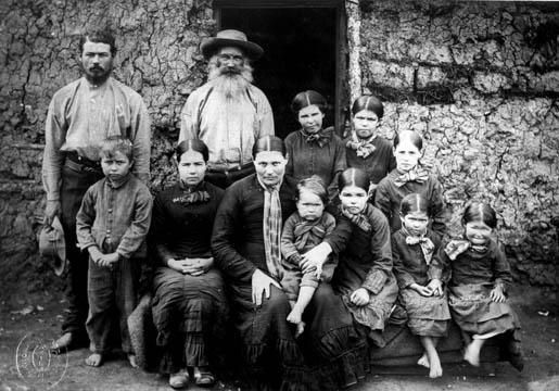 Boer family c. 1886.