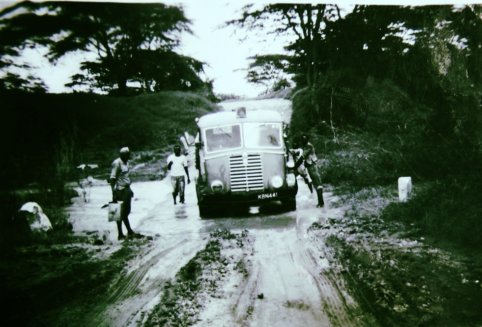This photo taken by district clerk Thomas J. Lobo is a good indication of the terrain of mid-twenthieth century Kenya.