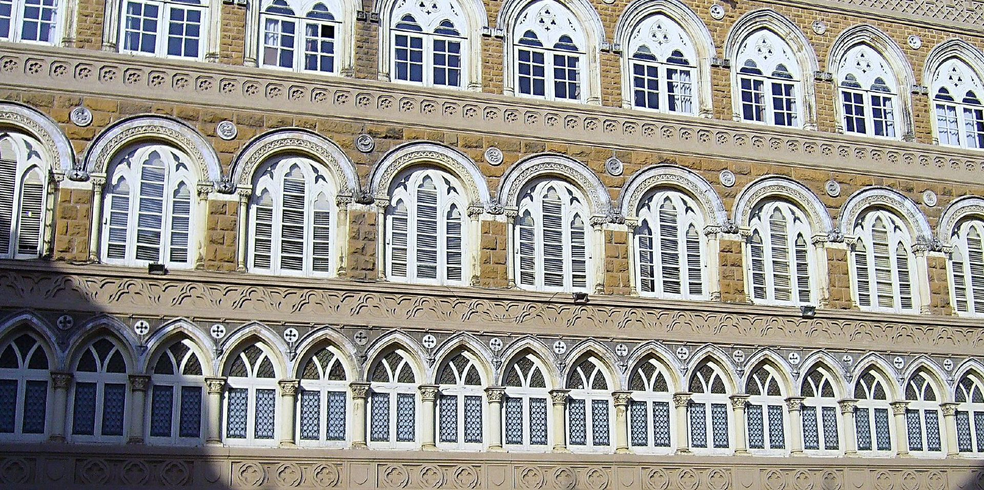 Architectural details of St. Xavier's buildings