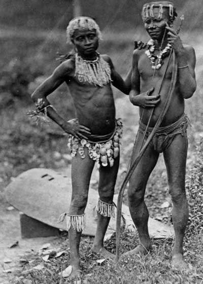 Great Andamanese men c. 1875