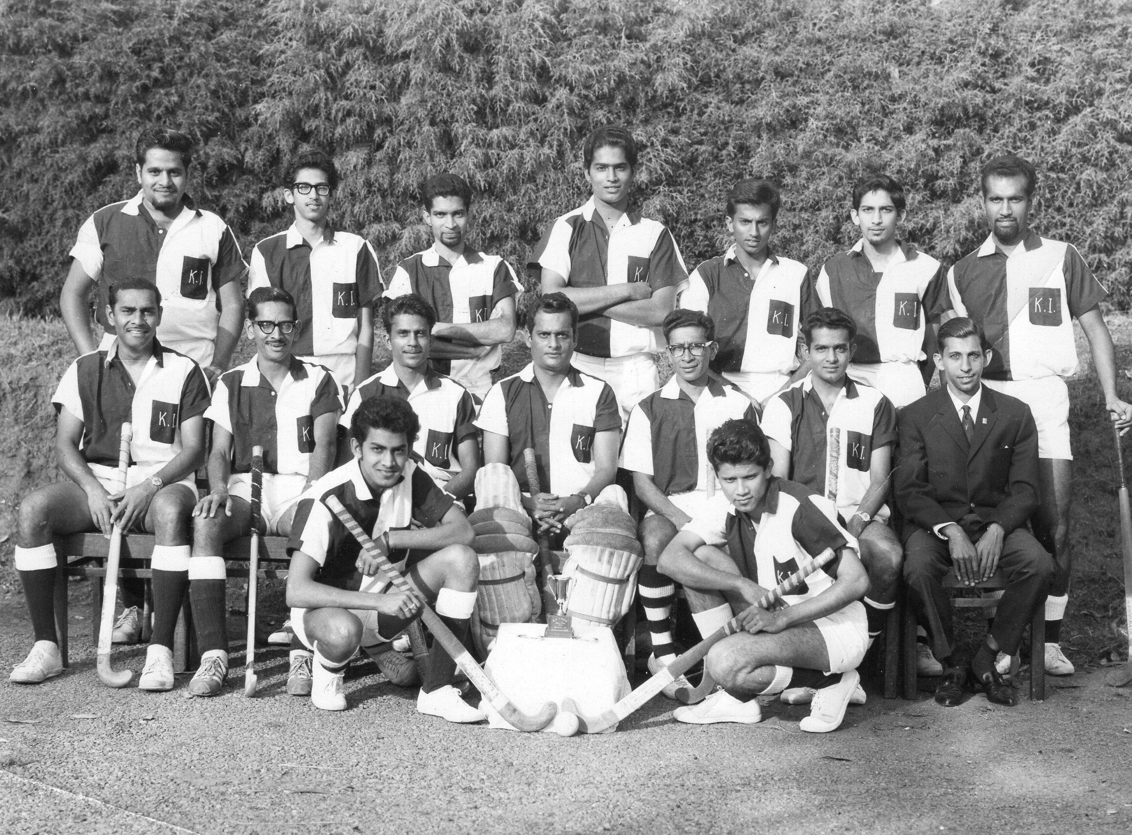 Kampala Field Hockey Team, 1967. Courtesy T. Athaide