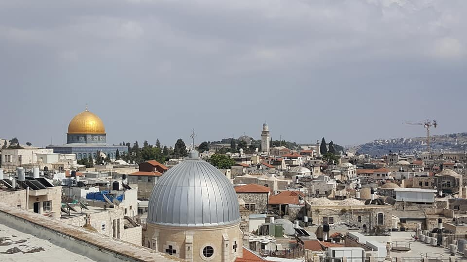 View of the city, Jerusalem, 14 June 2019.   Photographs © R. Benedito Ferrão. Click on image to enlarge.