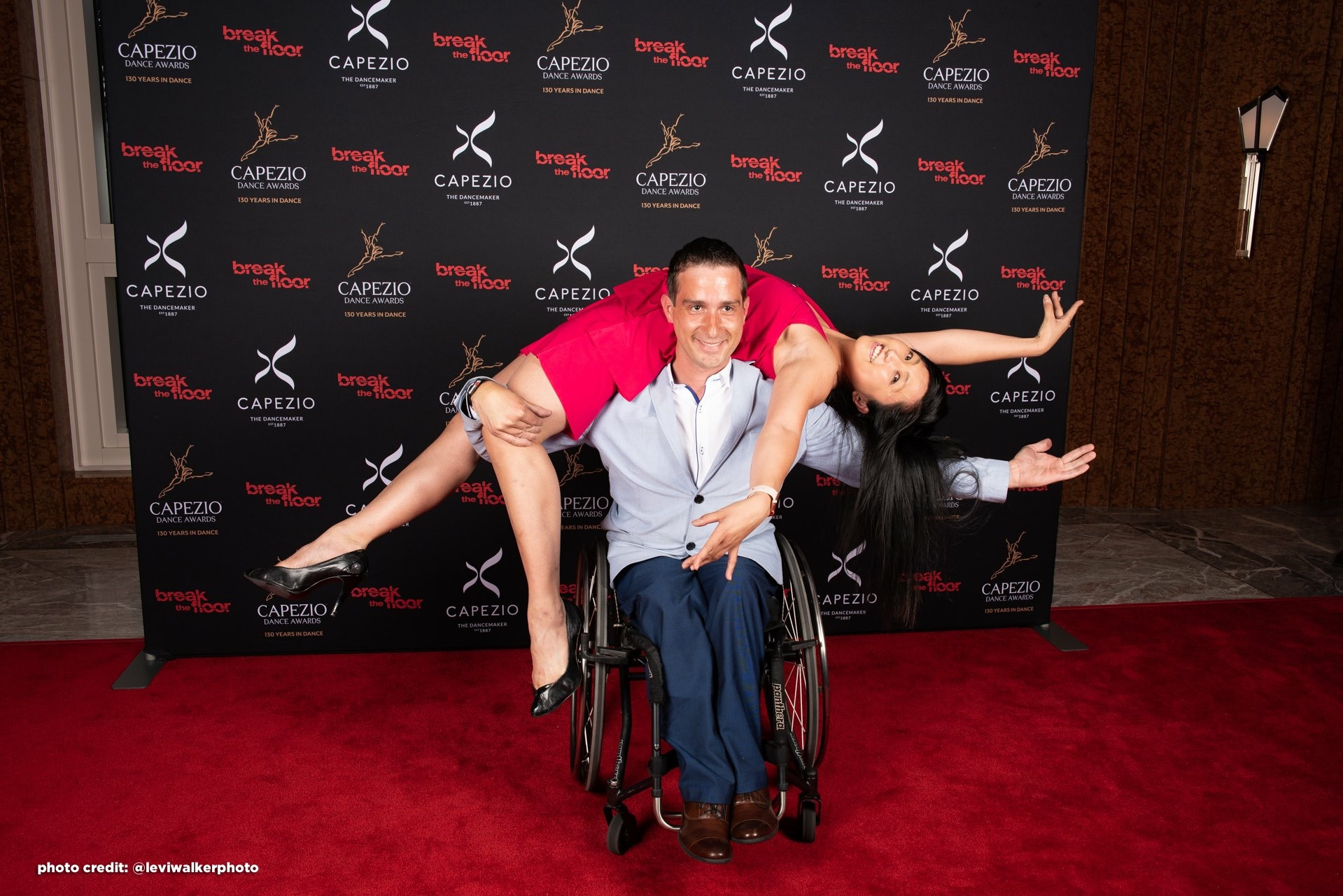 Marisa & Piotr as special guests at the Capezio Awards 2018