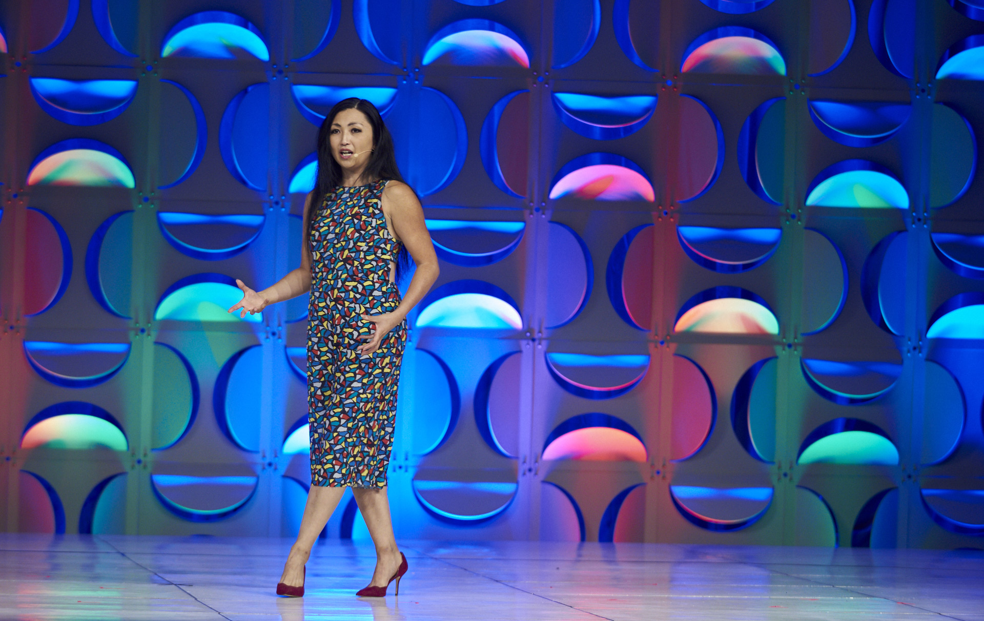 """Marisa speaking at Kaiser Permanente's """"National Diversity, Inclusion, & Equity Conference"""""""