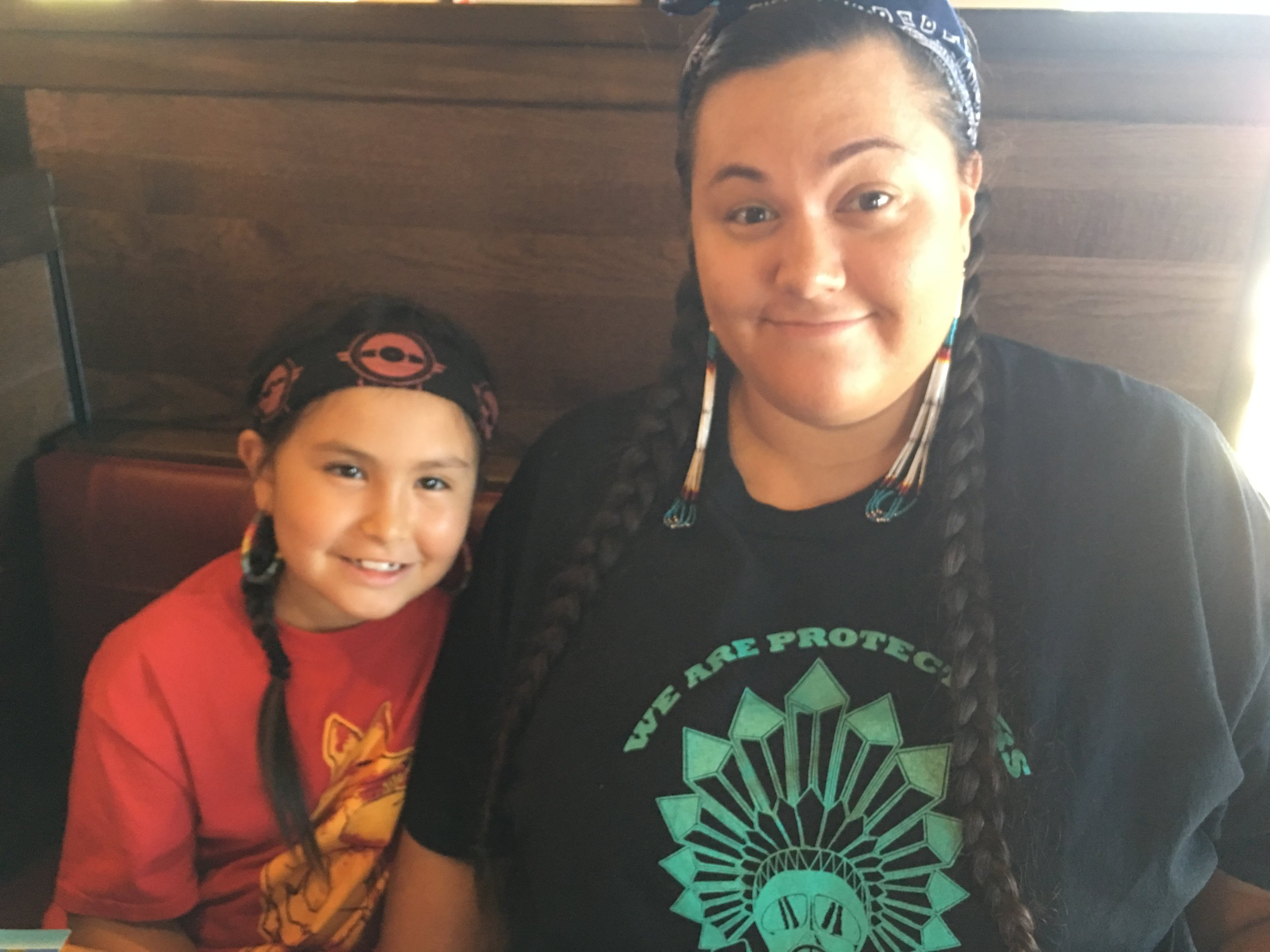 """Taté Walker on raising her daughter: """"It's my responsibility as her ina (Lakota for """"mother"""") and as a compassionate adult to ensure she's provided with Indigenous and other marginalized histories and perspectives her teachers, history books, mass media, and pop culture misrepresent or erase entirely."""""""