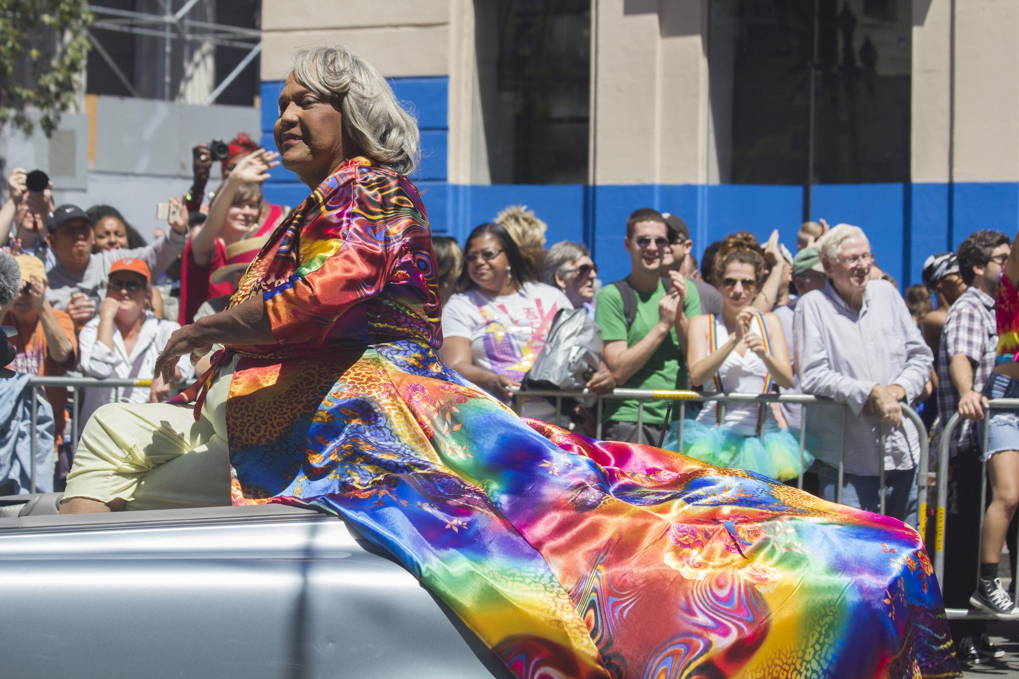 Above: Miss Major Griffin-Gracy, trans activist.