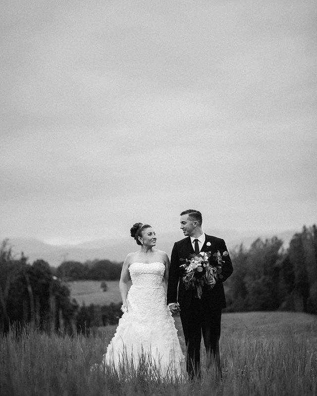 Justin and Ruthie . . . #bride #groom #wedding #vawedding #weddingphotographer #virginiaweddingphotographer #bw #weddingportrait