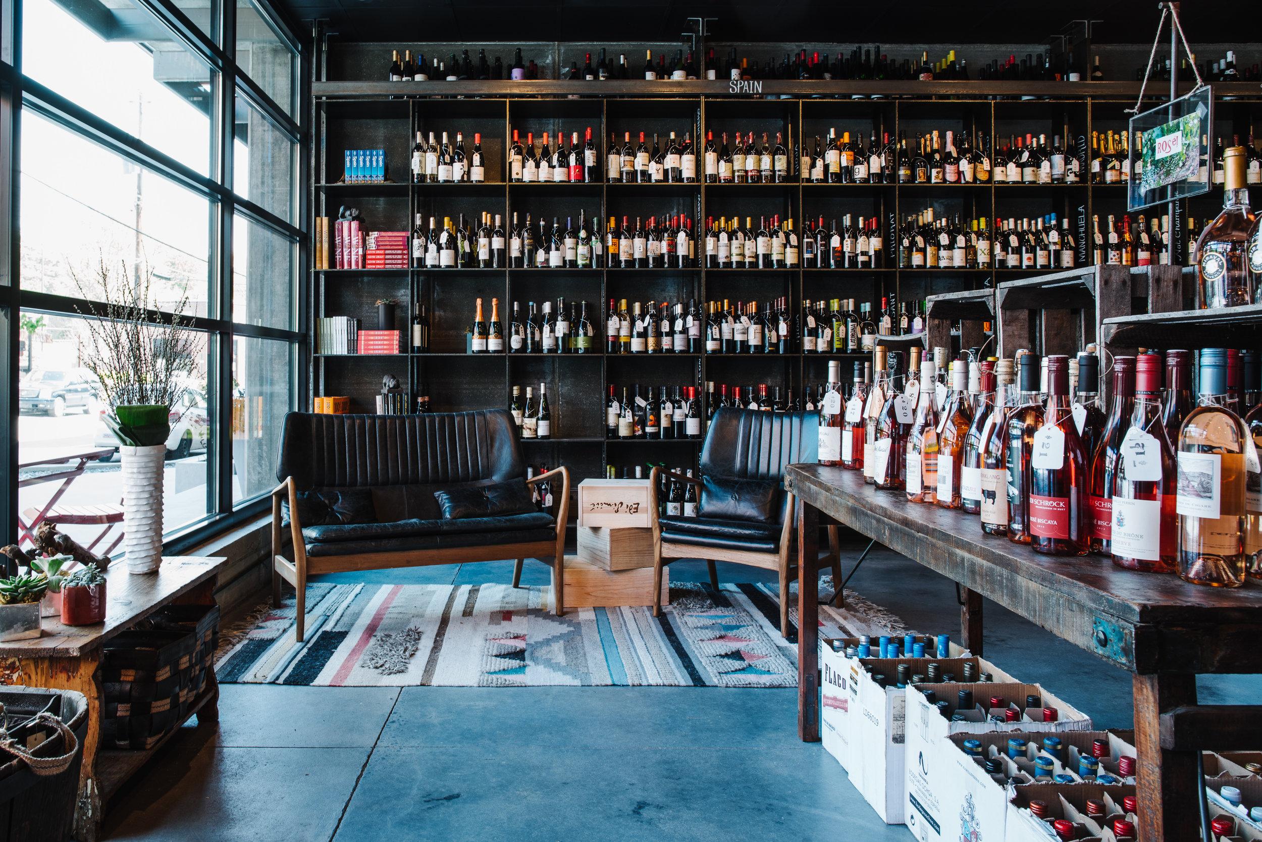 Vinoteca Best Wine Shop Retail Wine Store Inman Park Specialty Wines Rare Wines