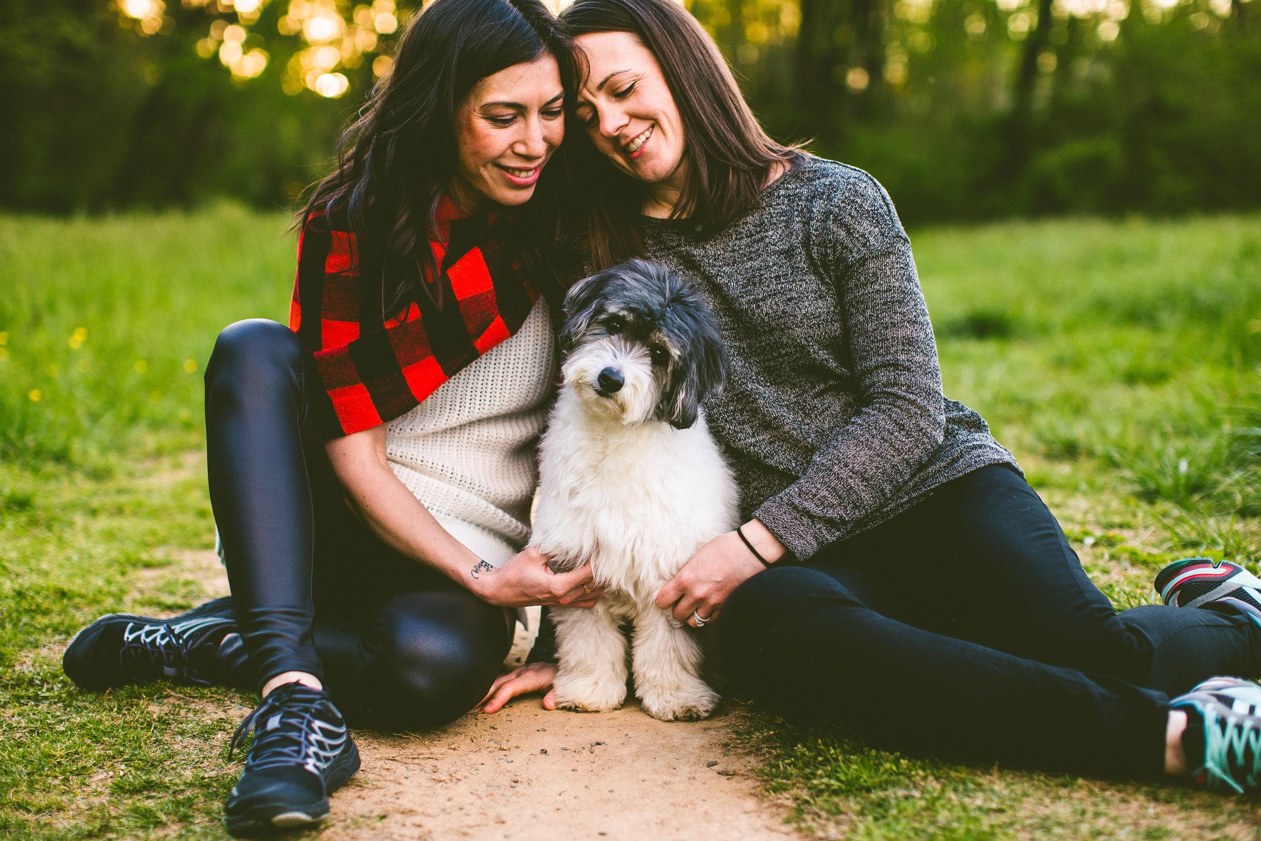 Kim, Ginny, and Levi. Photo taken by  Carolyn Scott Photography