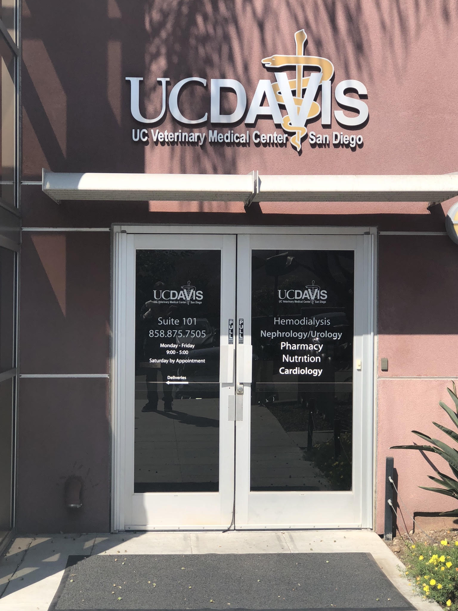 UC Davis Veterinary Medical Center in San Diego, CA
