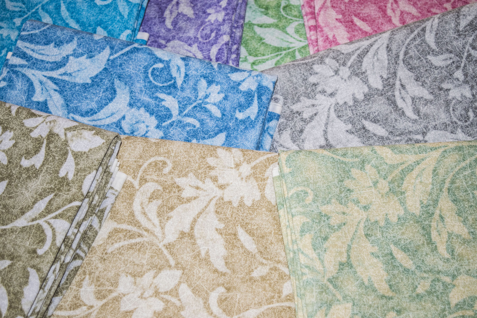 "SPW #218: Vintage Tapestry (45"")   Our Vintage Tapestry Collection is finished at 44/45"" and is printed on our 68 squares."