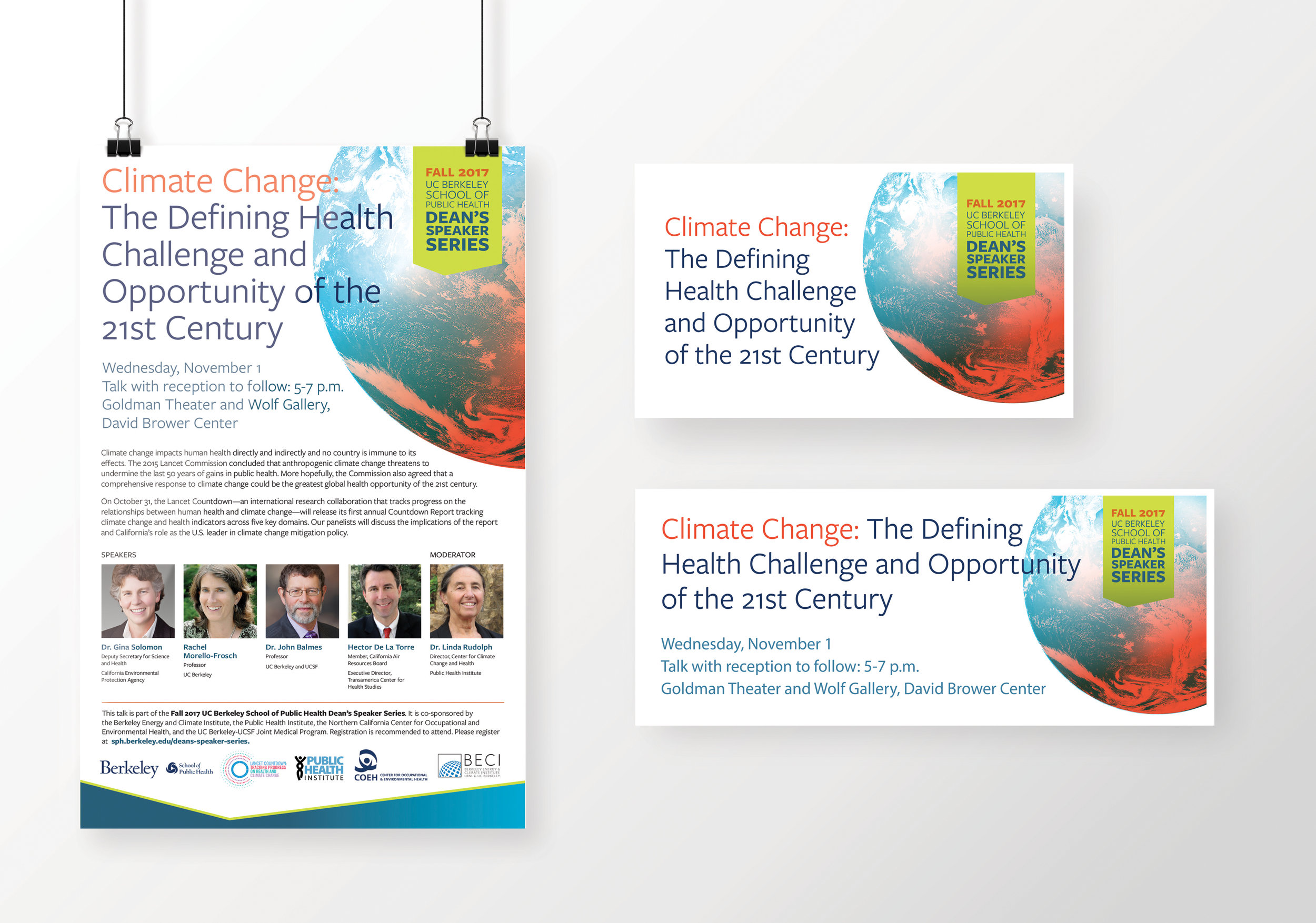 UC Berkeley School of Public Health Dean Speaker Series: Climate Change