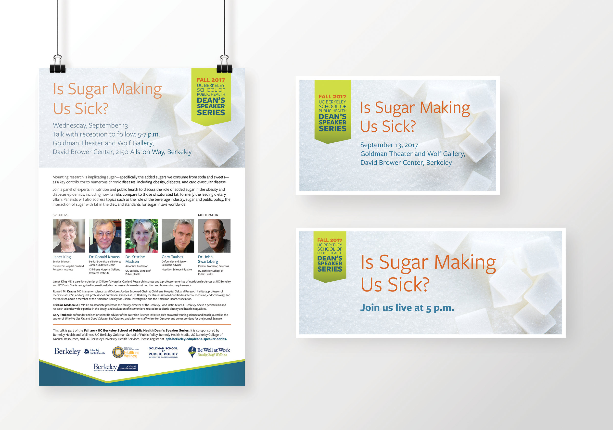UC Berkeley School of Public Health Dean Speaker Series: Sugar Panel