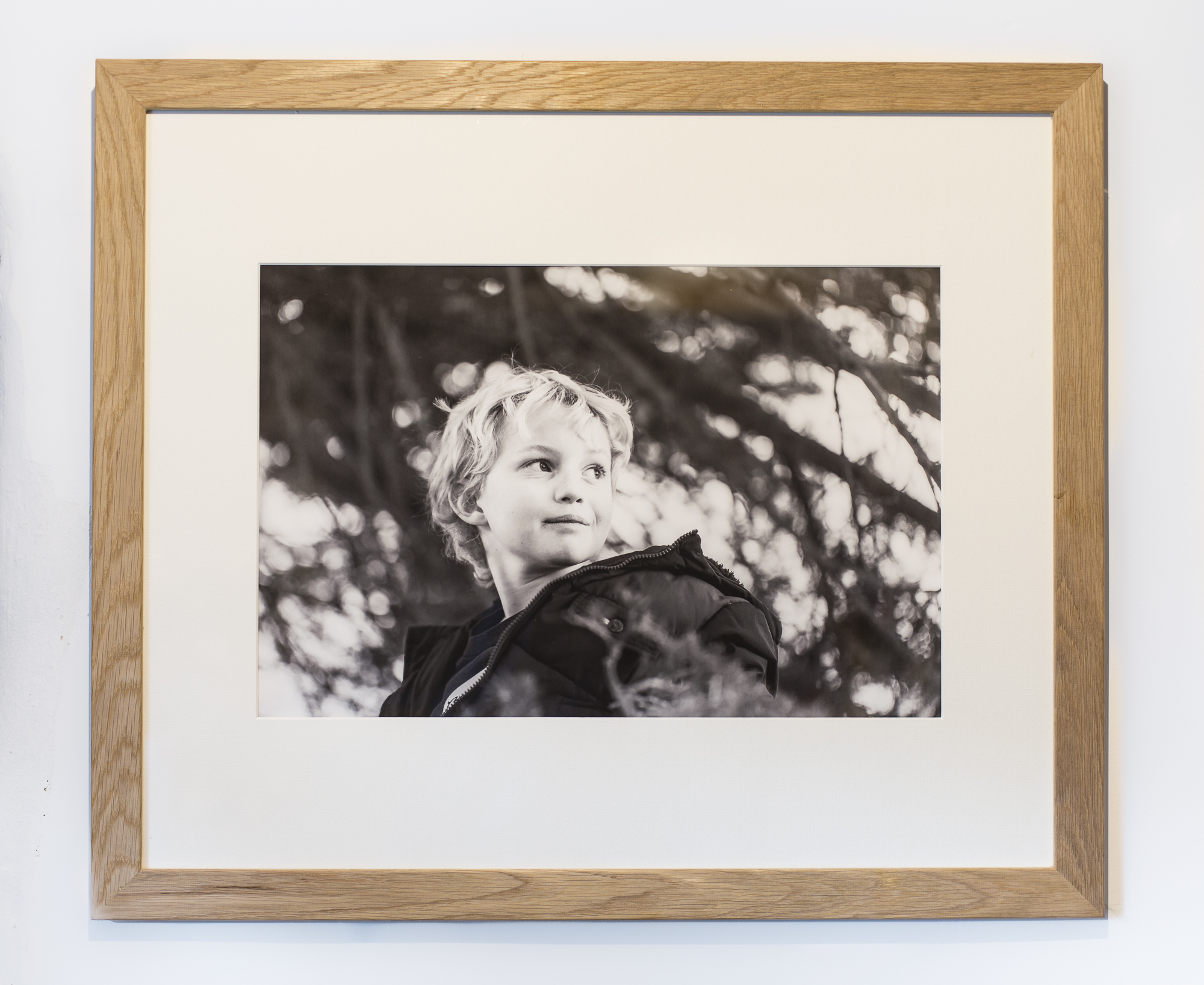 18x12 fine art print on Hahnemuhle cotton rag, in classic 24x20 oak frame with single mount (double mounts also available): from £125