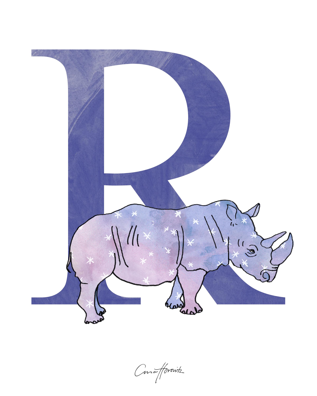 R Rhinocerous