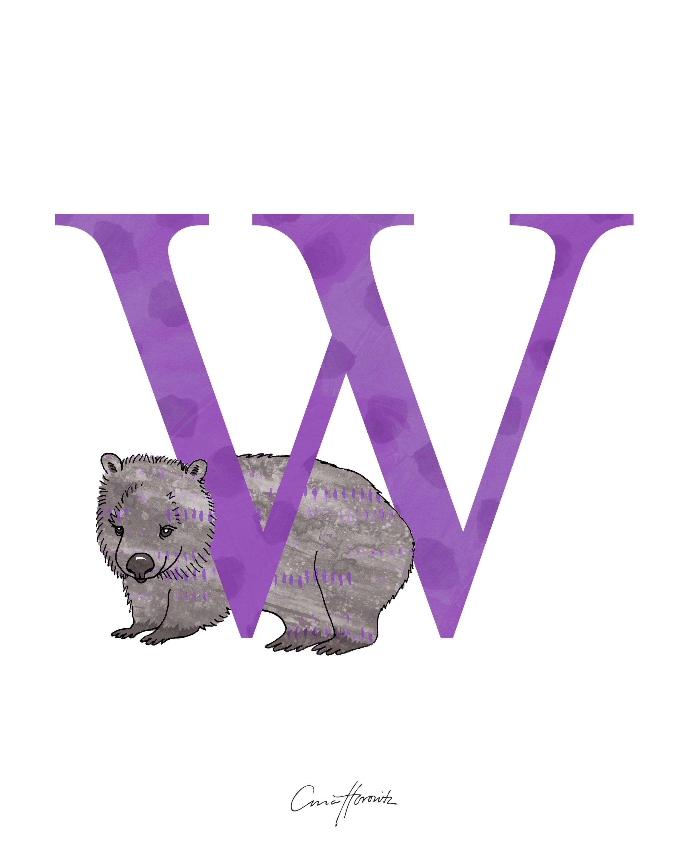 W Wombat