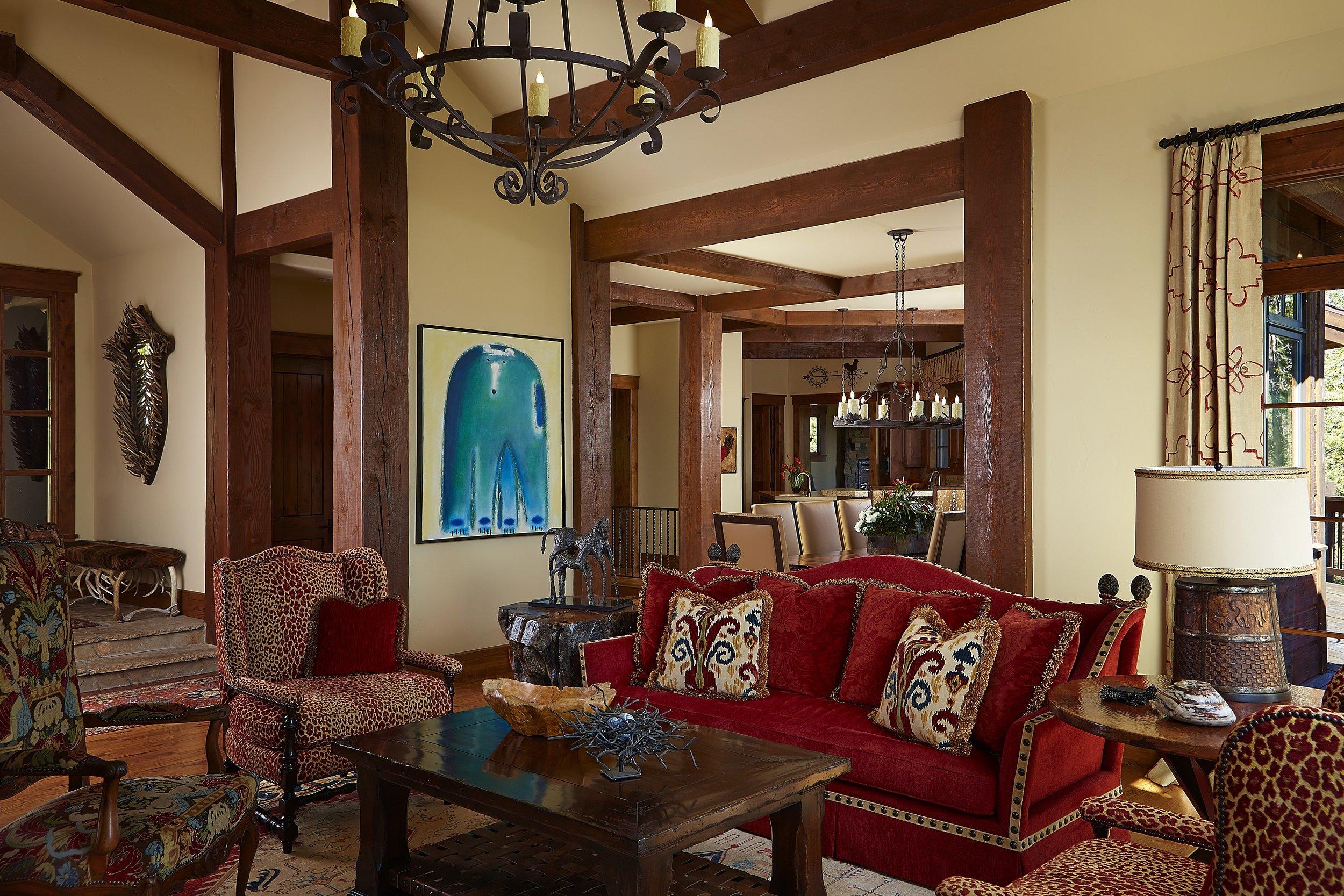Colorado Living Room – Award Winning
