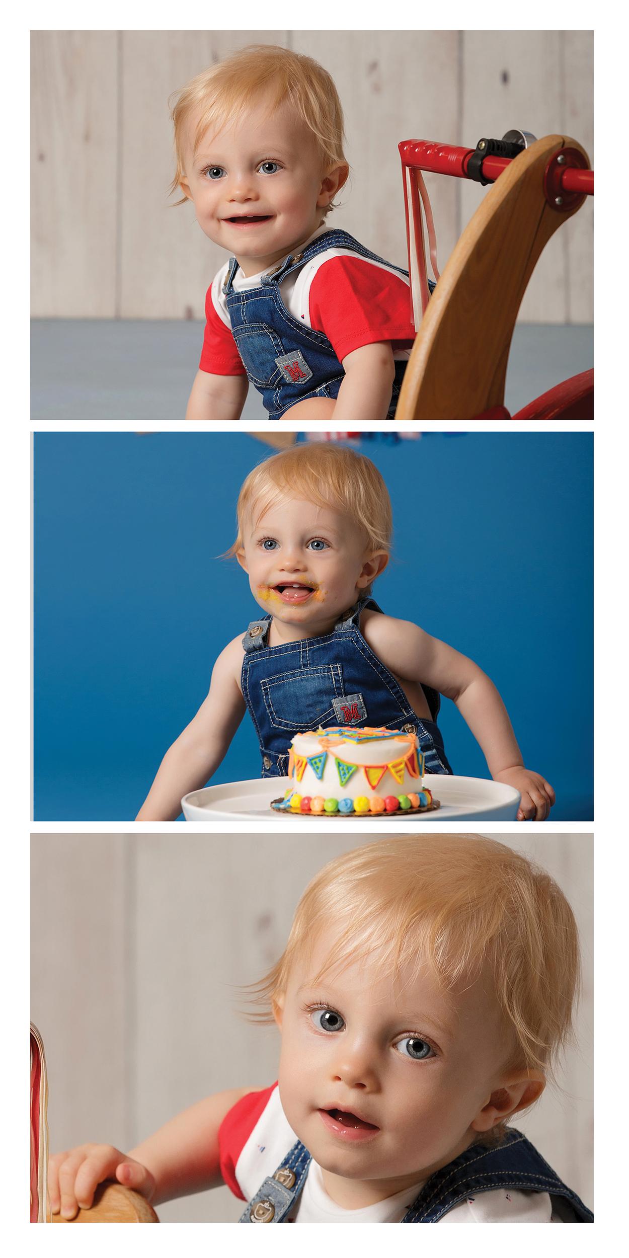 Wadsworth OH Smash Cake Photos