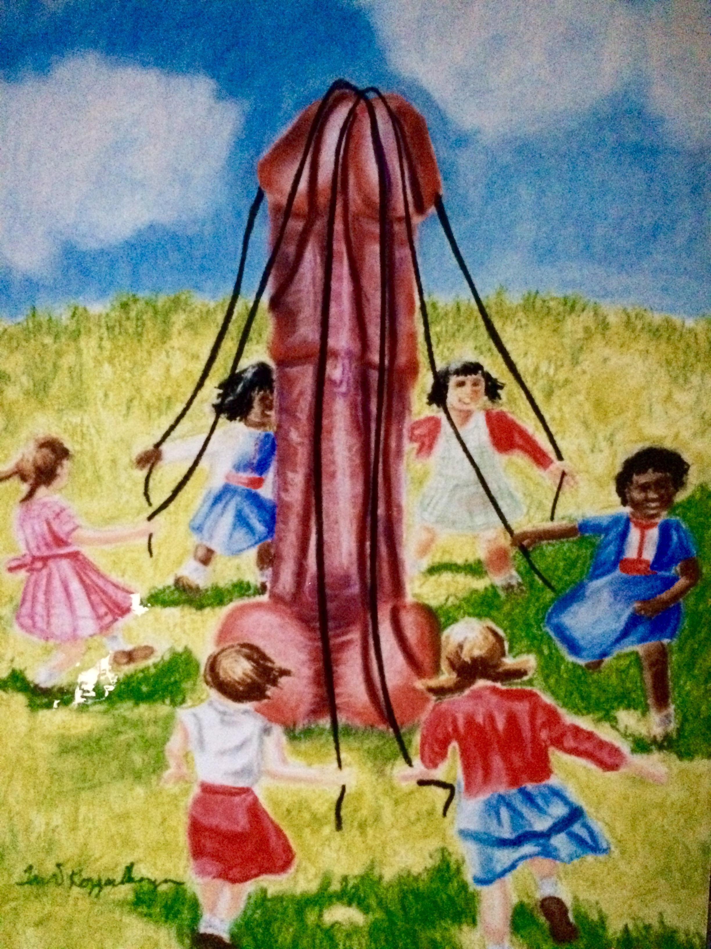 Around the Maypole We Go