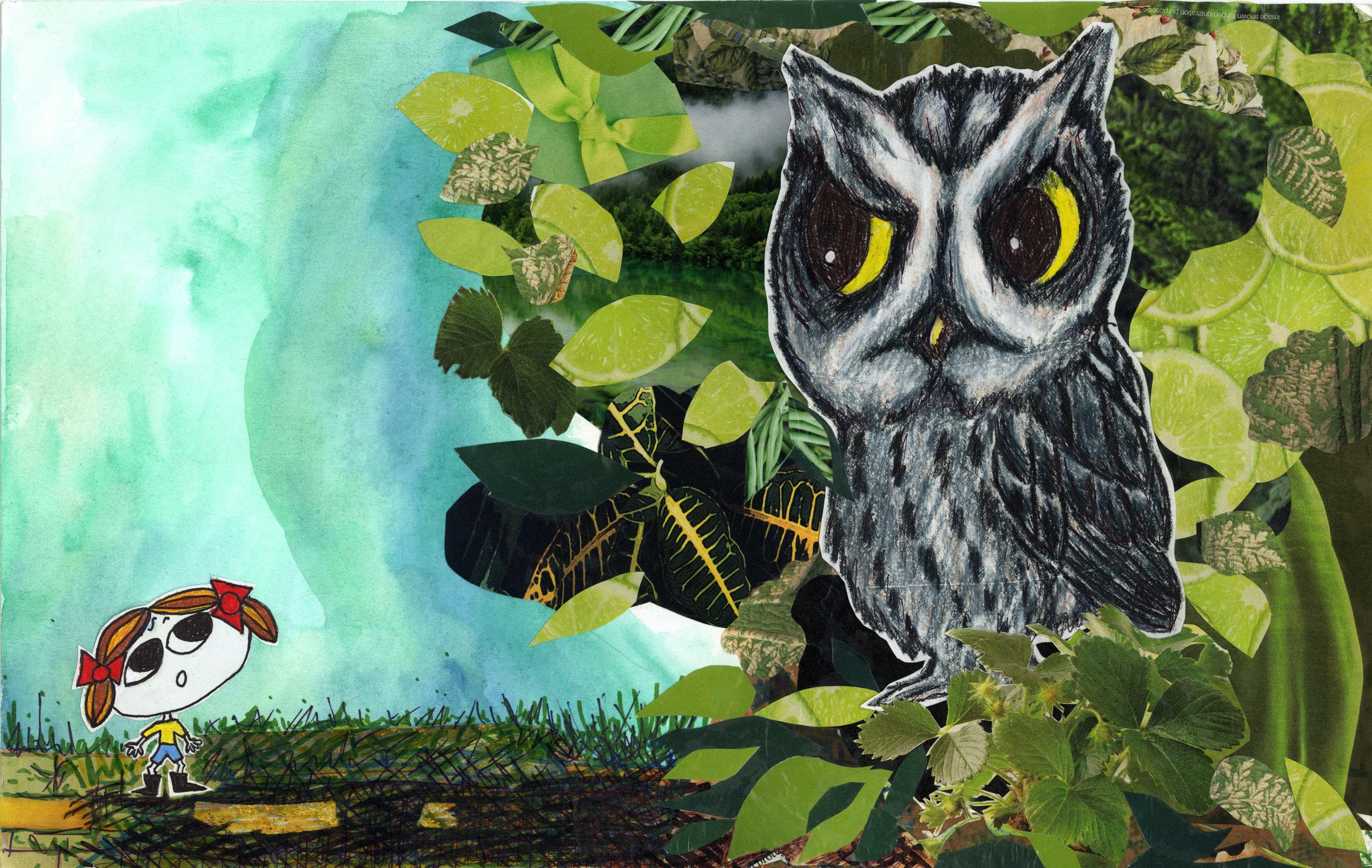 Lula with Owl