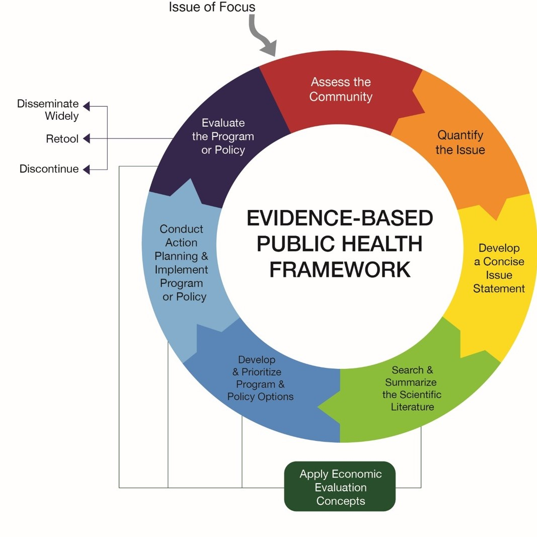 Brownson RC, Baker EA, Deshpande AD, Gillespie KN. Evidence-Based Public Health. 3rd Edition. New York: Oxford University Press; 2018
