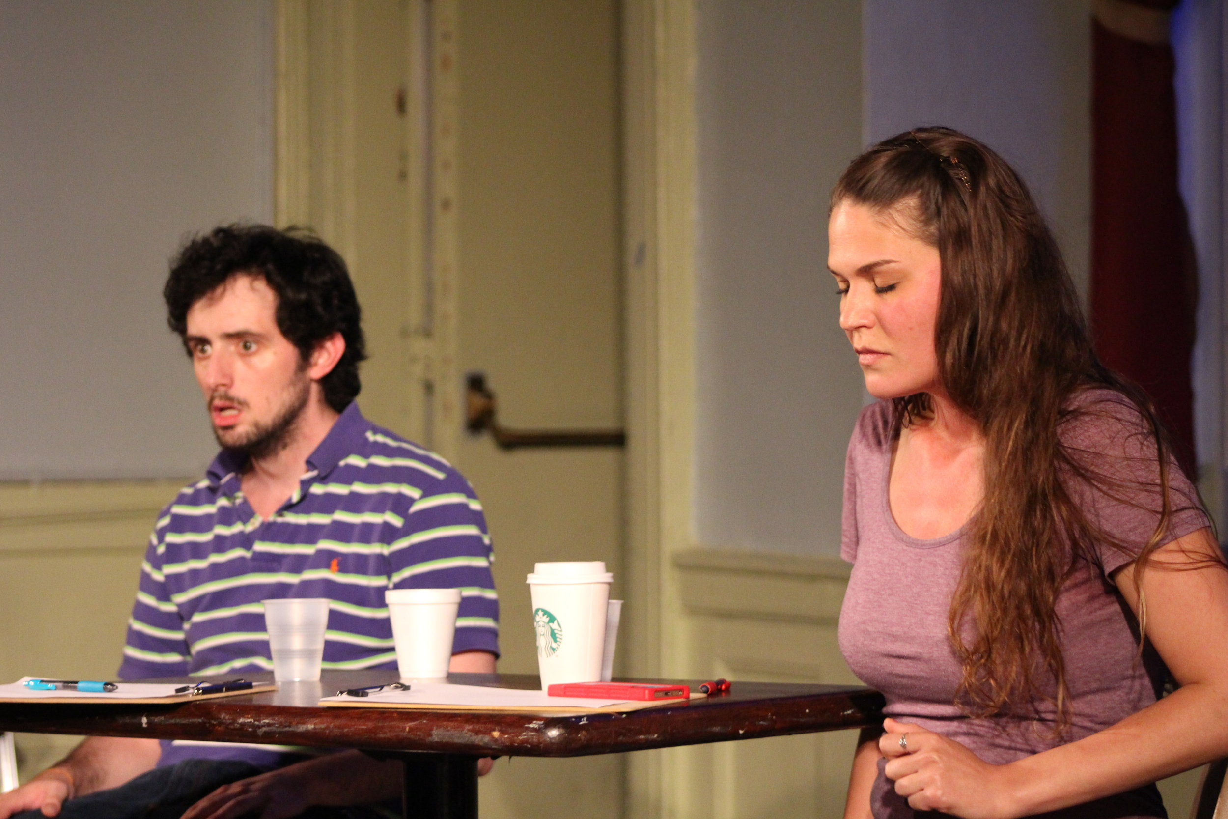 Production Photo from Greenhouse Ensemble's 10-Minute Play Soiree