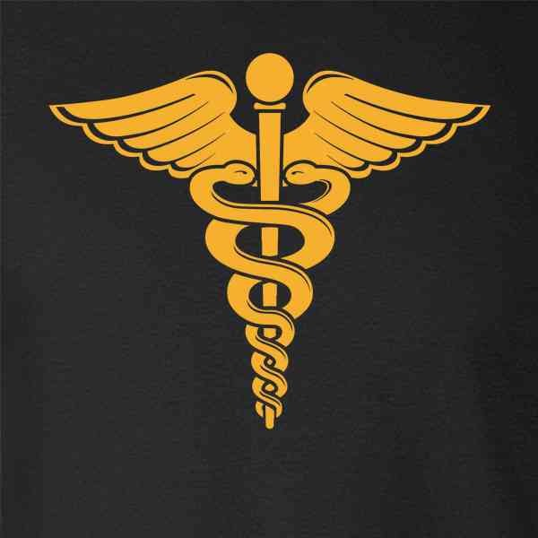Caduceus, the serpent-staff of Hermes and alchemical symbol