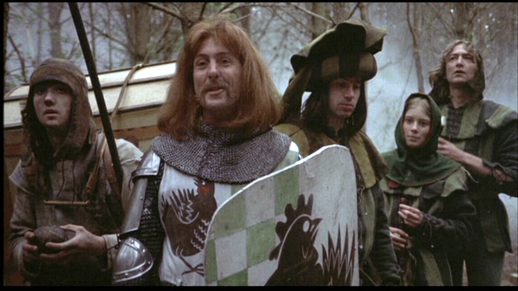 Bravely bold Sir Robin rode forth from Camelot