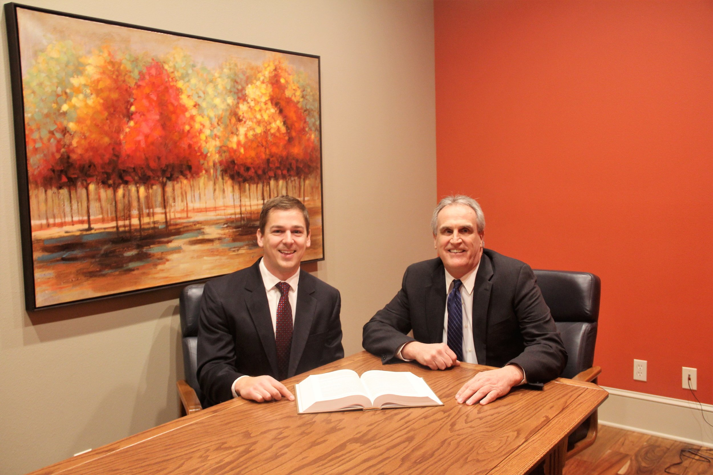 Estate Planning Attorneys and Personal Injury Lawyers, Ryan A. Kehm and Mark R. Crimmins