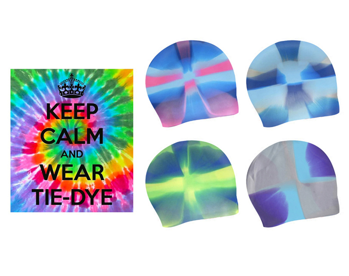 TIE DIE CAPS - A great way to show your style!