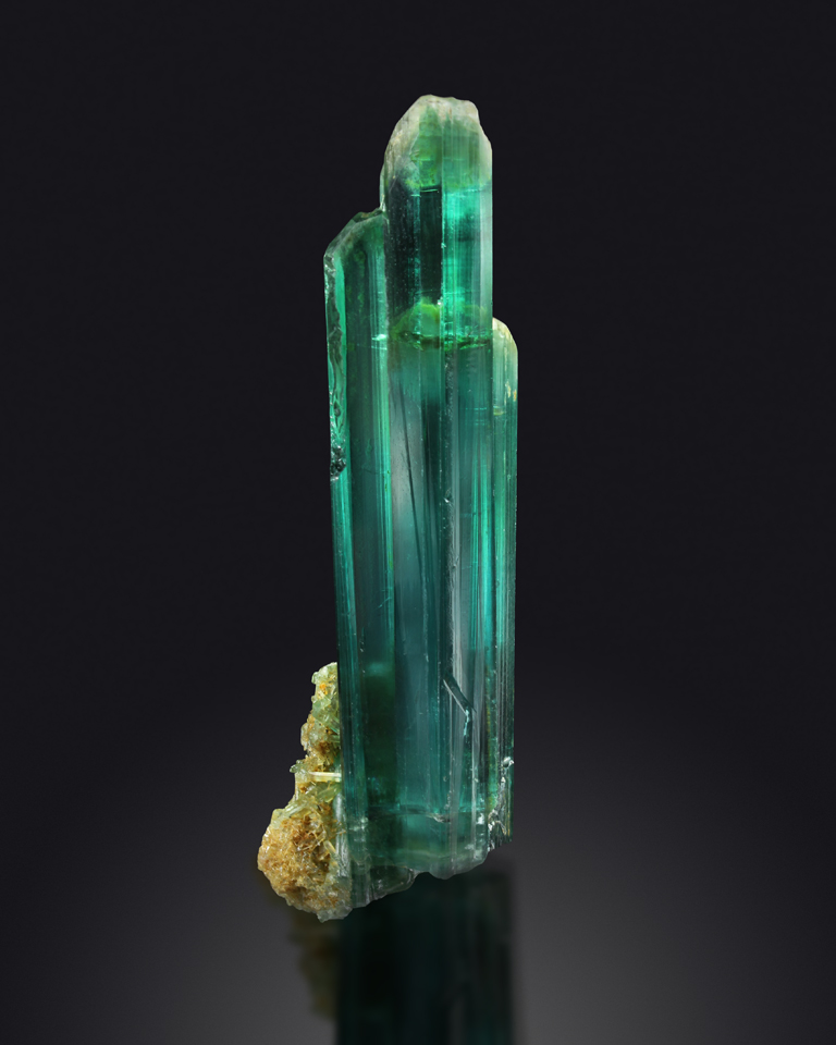 TOURMALINE - Darra-i-Pech pegmatite field, Chappa Dara District, Konar province, Afghanistan  -Private collection